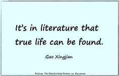 Quotable- Gao Xingjian