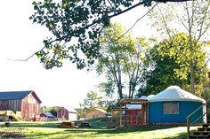 Yurt Glamping in Upstate New York | Luxury Camping in Upstate New Yo