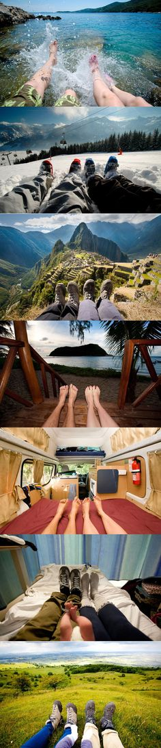 Photos des voyages d'un couple