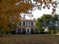 Federal Hill Mansion, Bardstown, Kentucky which was the symbol of Stephen Foster's ballad, My Old Kentucky Home.