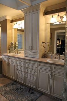 Individual sinks.  Individual bathrooms, perhaps?