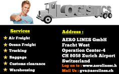 Aerolines - The Ultimate Cargo Solution  Click Here : www.aerolines.ch