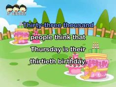 《Tongue Twister》Thirtieth Birthday