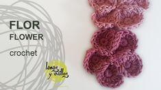 Tutorial Flor Crochet o Ganchillo Flower