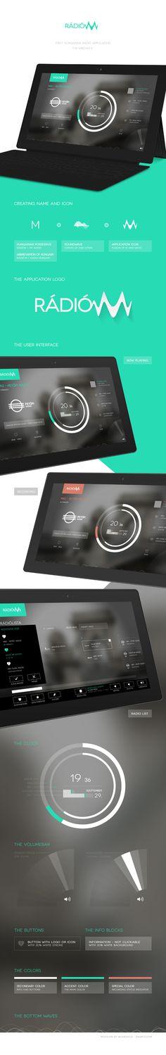 Windows / Radiom #Radio #iPad #App