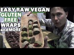 Easy Gluten-Free Raw Vegan Wraps & More at Natural Products Expo 2015 - YouTube