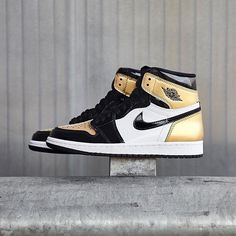 "Retro I ""Gold Toe"""