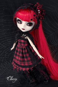 #Goth girl doll named Spider Queen by Cherry