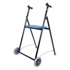 Andador de hierro AIR-ON color azul  #ortopedia #orthopedia #walkers #mobilitywalkers #andadores #adultos #mayores #terceraedad #salud #health #ortopediaplus