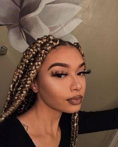 65 Amazing Box Braids Hairstyles And Haircuts . - 65 Amazing Box Braids Hairstyles And Haircuts Micro Braids, Twist Braids, 5 Braid, Hair Twists, Box Braids Hairstyles, Hairstyles Haircuts, Ethnic Hairstyles, Dreadlock Hairstyles, Modern Hairstyles
