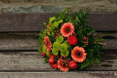 Syksyn Kukkia, Kukkakimppu, Gerbera