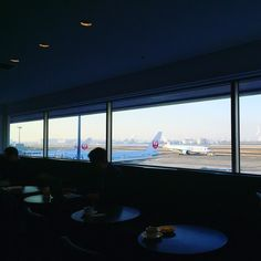 Haneda airport. Favorite time. #travel #air #sky #haneda