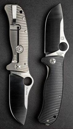 Spyderco C181GTIP Lil Lion Spy G-10 Titanium Plain Edge Black G-10Titanium Handle EDC Folding Pocket Knife Blade