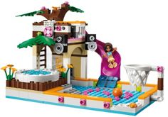 LEGO 41008 Friends: Großes Schwimmbad