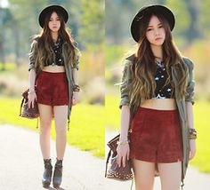 Wolves Parka, Minkpink Shorts - Next to You -