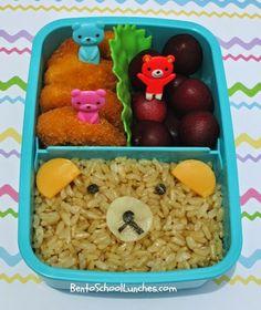 Bento School Lunches: Bear bento