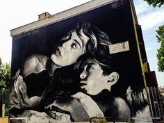 "Luis Gomez de Teran, ""Raccontami una storia"", in Rome - street art"
