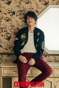 Sung Joon gives insight into his hobbies in 'Cosmopolitan'