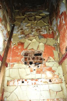 Peeling Walls, Abandoned Strathore Hospital, Fife