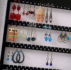 How to Store Jewelry -- Earrings, Necklaces, Bracelets, and Rings