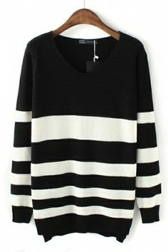 oversized striped sweater. Use coupon code: pinterest to receive 20% off your order