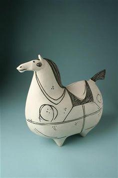 Happy horse - Stig Lindberg