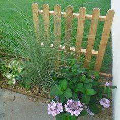 la porte du jardin... avec de la palette ! | Garden design ...