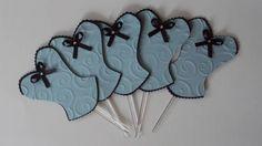 Topper para doces, cupcakes ou salgados Convite corpete para Chá de Lingerie personalizado em scrap. Todos a Linha de convites personalizados em scrap e decoração para Chá de lingerie em www.elo7.com.br/amornopapel/cha-de-lingerie/al/47B93 visite a vitrine da scraperia Amor no Papel em http://vitrine.elo7.com.br/amornopapel