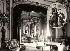 Guilhermina (1854-1925) e Eduardo Palassin (1846-1912): os patriarcas dos Guinle (Fotos: acervo pessoal) Inspirado no Cassino de Monte Carlo, o Palácio Laranjeiras é uma ode à riqueza e à ostentação. Com três imensas alas, a construção, de 1913, tem como um dos arquitetos o francês Joseph Gire, o mesmo do Copacabana Palace.