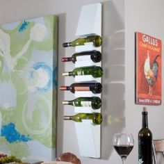 Finley Home Milano Wall Wine Rack