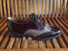 Zapato tipo Oxford en charol , colección otoño/invierno 2014