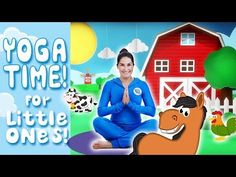 Yoga, mindfulness and relaxation for kids. Interactive adventures which build strength, balance and confidence - and get kids into yoga and mindfulness early. Rhyming Activities, Book Activities, Toddler Activities, Chico Yoga, Preschool Yoga, Best Yoga Videos, Animal Yoga, Farm Kids, Farm Theme