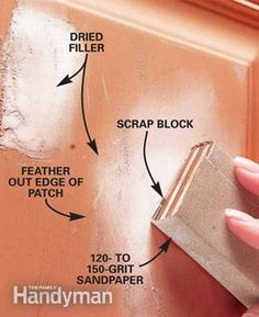Patch Dents in a Metal Door | The Family Handyman
