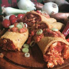 Paleo goes Mexico Leckere Fajitas mit shredded Chicken Füllung