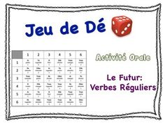 French Simple Future (Regular Verbs) Speaking Activity for