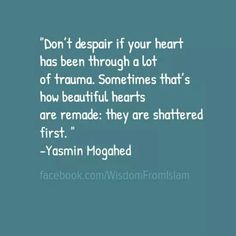 that's how beautiful hearts are remade