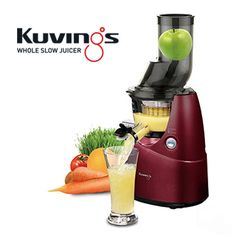 When you're making juices for the week, make sure it's with the Kuvings Whole Slow Juicer. The white juicer has a clear plastic container that shows when you have to start pouring some of the fresh juice, and the seal on the spout will prevent drips when Wedding Gifts For Newlyweds, Best Wedding Gifts, Commercial Juicer, Centrifugal Juicer, Clear Plastic Containers, Best Juicer, Blenders, The Fresh, Cleaning