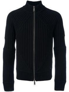 쇼핑 Dsquared2 집업 청키 리브드 스웨터.