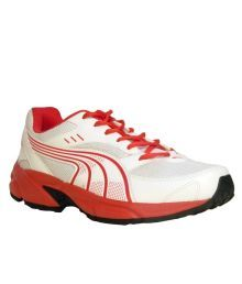 Puma White Mesh textile Running Sport Shoes. Snapdeal e56a634a6