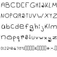 DANGOWEEK REGULAR FONT