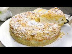 Wenn du etwas Joghurt hast, solltest du diesen super Cremekuchen backen! Schneller Joghurtkuchen - YouTube Sweet Recipes, Cake Recipes, Dessert Recipes, Torte Recepti, Cake Factory, Yogurt Cake, Icebox Cake, Sweet Cakes, Cream Cake