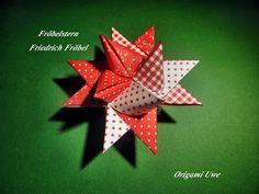 Origami, Fleurogami und Sterne: Fröbelstern