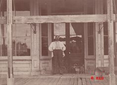 Early Tombstone Paper: C.L. Cummings Butcher Shop Picture, 1880, Tombstone, AZ