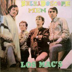 La Caverna Musical: Los Mac's - Kaleidoscope Men (Chile,1967) Beatles, Cover Art, Album Covers, Musicals, Mac, Movies, Movie Posters, Cave, Bicycle Kick