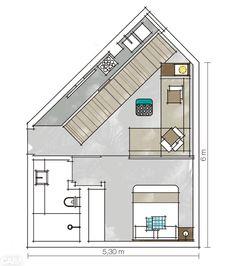 Apartamento de solteiro: conforto máximo num espaço pequeno - Casa