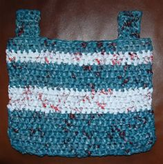 Crochet a Walker Caddy for Yourself or a Senior You Know – Free Pattern
