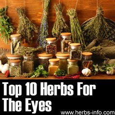 ❤ Top 10 Herbs For The Eyes ❤