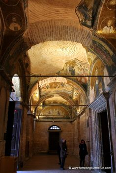 Chora Church and Museum, famous for its beautiful Byzantine mosaics. #istanbul