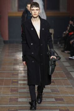 """Lanvin Fall-Winter 2014 Men's Collection  (or """"the only look i would save from paris menswear"""")"""