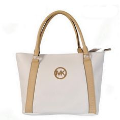 Michael Kors Jet Set Travel Small White Satchel